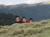 neugierige Sherpakinder